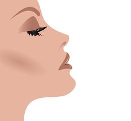 visage femme soins et maquillage