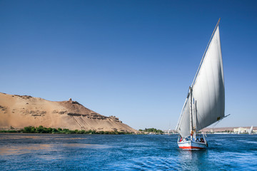 Traditional Nile Felucca