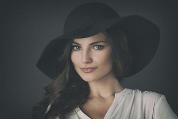 Beautiful Russian Woman on Seamless
