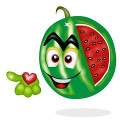 cuore di anguria