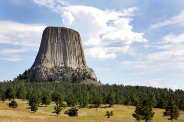 Devils Tower National Monument Wall mural