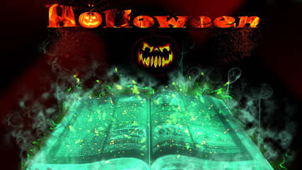 Mystical Halloween book