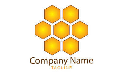 Honey Bee Logo Vector