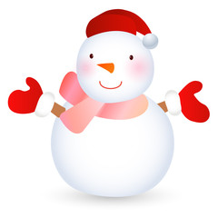 雪だるま かわいい アイコン