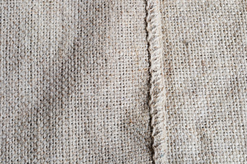 hemp sack background