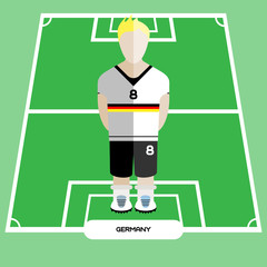 Computer game Germany Soccer club player