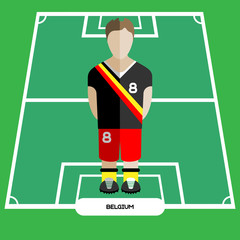 Computer game Belgium Soccer Football club player