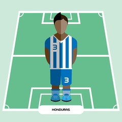Computer game Honduras Soccer Football club player