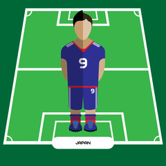 Computer game Japan Soccer Football club player