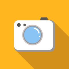 Camera colored flat icon