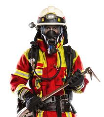 Feuerwehrmann Freisteller