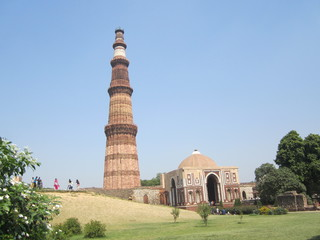 Kutub Minar, Heritage, New Delhi, India