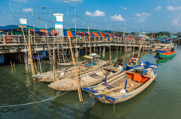 Traditional fisherman boat in Thailand