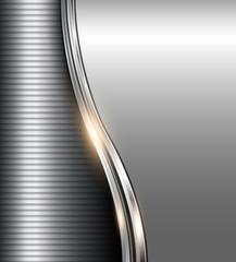 Elegant business grey background