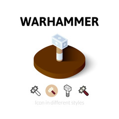 Warhammer icon in different style