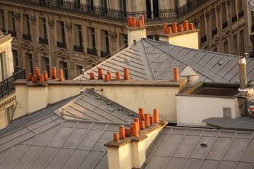 Paris  Les toits et les cheminées 2