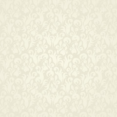 Seamless floral background. Pastel colors