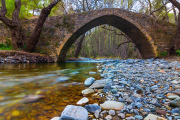 Fotobehang Cyprus cyprus venetian bridge