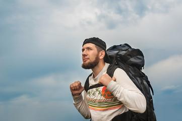 Brave hiker