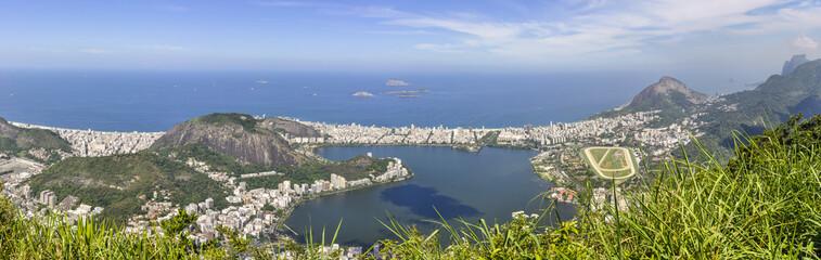 Wall Mural - Panorama in Rio de Janeiro, Brazil