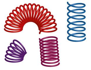 3d vector springs