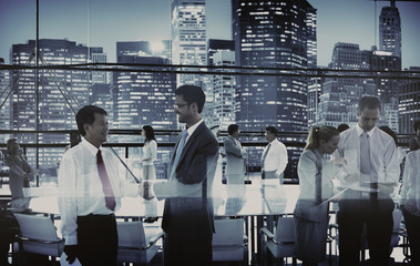 Business People Meeting Boardroom Working Concept