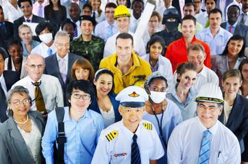 Diverse Business People Successful Career Concept