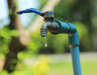 Faucets drip, Cause wastage of water