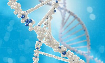 DNA molecule. Concept image
