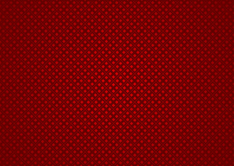 Red Checkered Texture - Fabric Background Illustration, Vector
