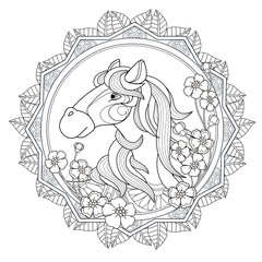 lovely horse design
