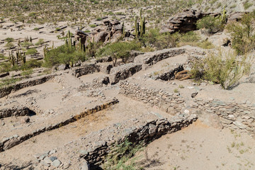 Ruins of ancient pre-inca town Quilmes, Argentina
