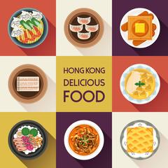 delicious Hong Kong dishes