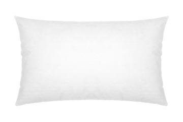 white pillow on white background