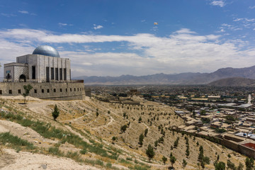 mausoleum in kabul city