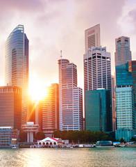 Foto op Canvas Singapore Singapore Downtown Core