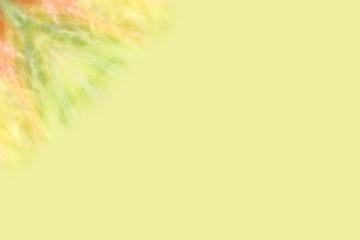 Corner pattern on yellow background