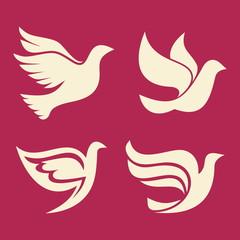 Set of doves, Holy Spirit