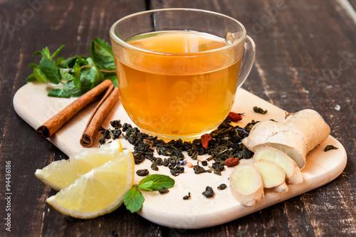 еда чай лимон мята eda tea lemon flicking  № 676168  скачать