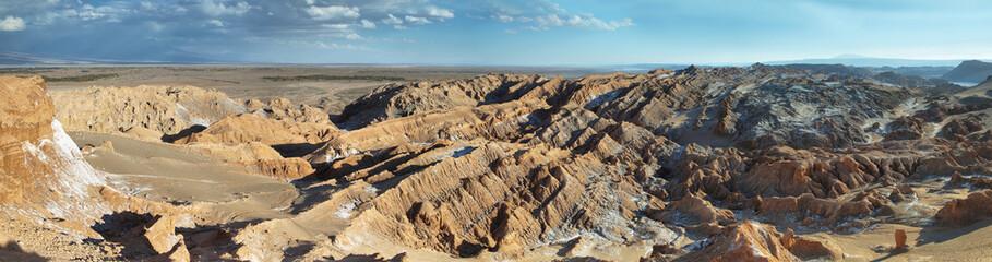 Desert landscape of Valley of Mars