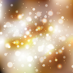 Blurred background with sparkles