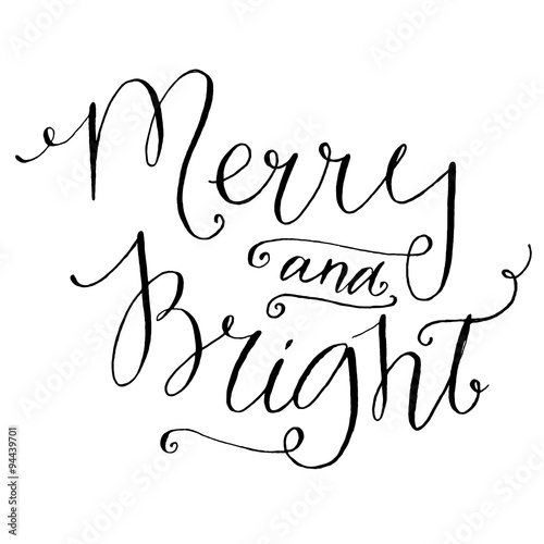 Black And White Merry ...