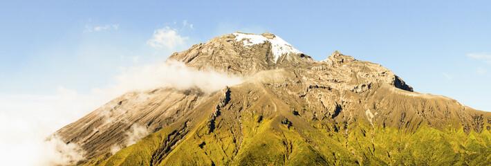 Tungurahua Peak Panorama