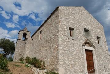 Vairano Patenora (CE), borgo medievale, chiesa di San Tommaso