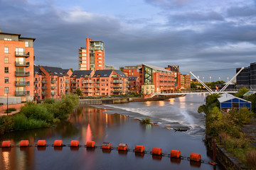 Wall Mural - River Aire Leeds