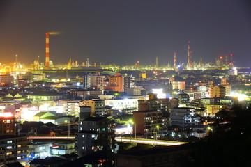 大分市の夜景