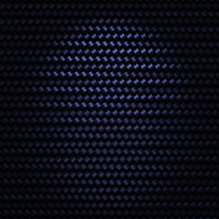 Dark Blue Metallic Woven Background