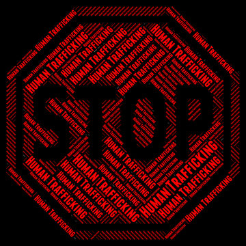 Stop Human Trafficking Indicates Forced Marriage And Crime
