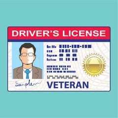 Veterans Driver's License