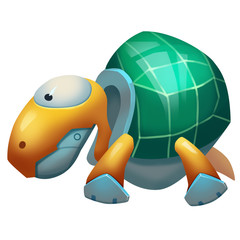 Illustration: Game World Topic - The Idle Turtle - Character Creation - Fantastic Style